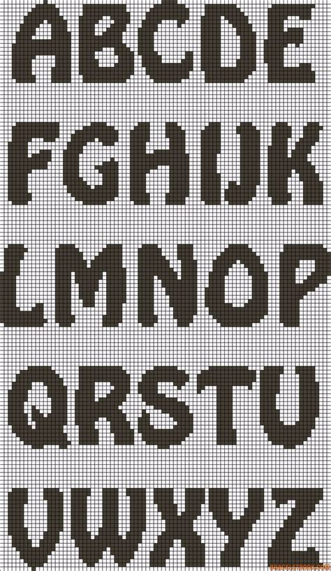 hama bead letter templates the 193 best images about crochet knit letters on the alphabet alphabet letters and