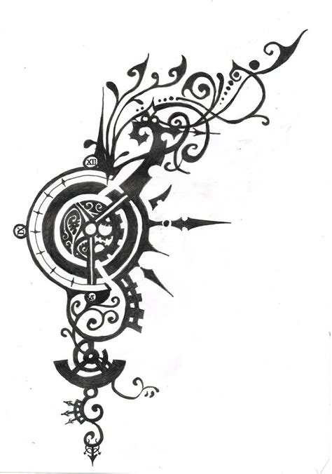 mad tattoos designs steunk designs design design