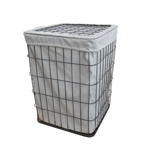 buy grey wire metal frame laundry basket from the