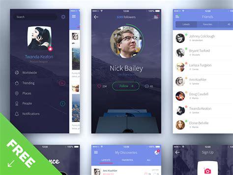 best iphone layout design iphone 6 ui kit freebiesbug