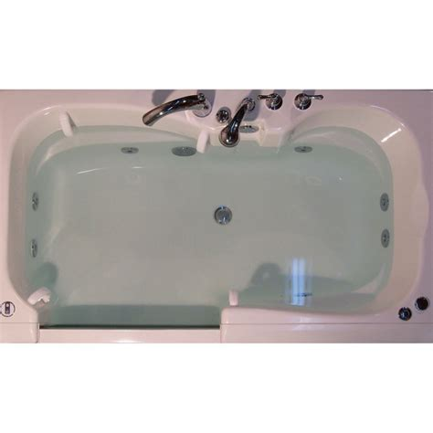 slide in bathtub adl spa slide in bath basic aquassure