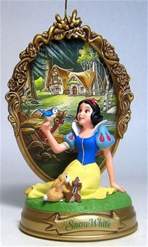 Snow White Ornament - snow white with backdrop ornament hallmark from our