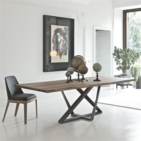 bontempi tavolo tavolo moderno in legno noce millennium arredaclick