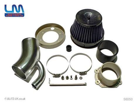 blitz lm induction kit blue   turbo rev  fensport