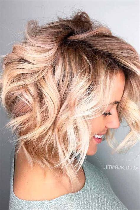 hair style ideas with slight wave in short best 25 messy bob haircuts ideas on pinterest