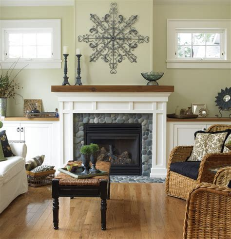 white mantel or wood with fireplace