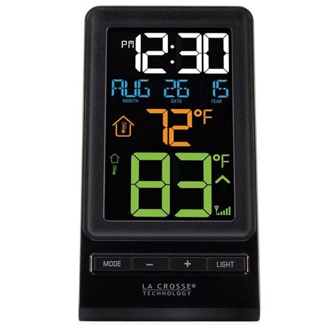 la crosse technology color digital wireless thermometer
