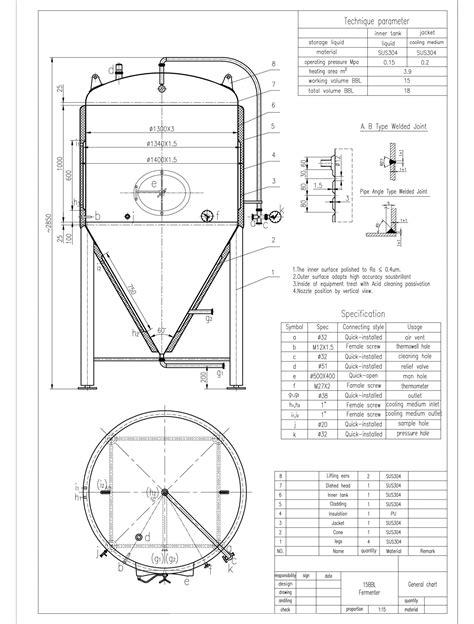 machine layout of jacket 15 barrel brewery fermenter tanks the vintner vault