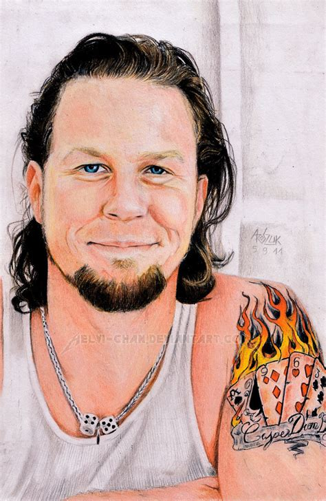 james hetfield smile by red szajn on deviantart