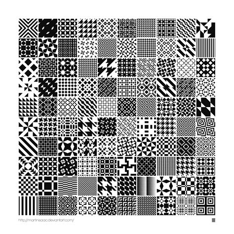 illustrator pattern from image planetary folklore 100 free monochrome geometric patterns