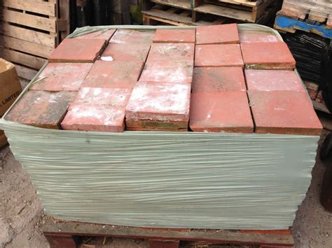 Handmade Quarry Tiles - 9 architectural antiques salvage reclamation