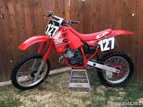 1989 Honda Cr125r 1989 Honda Cr125r Showcase Bike Vintagemx Net