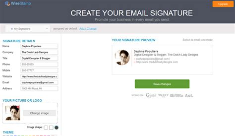 design free email signature signature how to create a professional signature