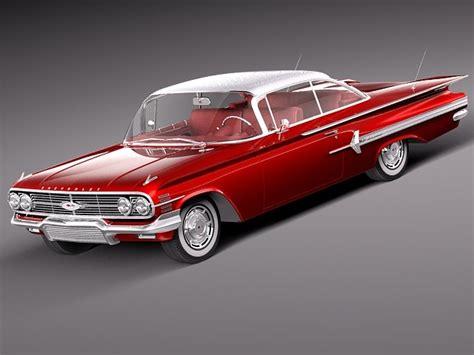 chevrolet 1960 models 3d 3ds chevrolet impala 1960 coupe