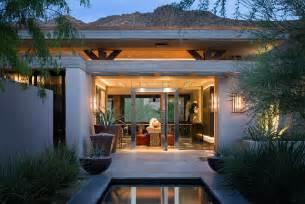 Modern desert home modern patio orange county by harte brownlee amp associates interior design