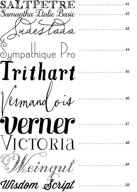 Great Essay Fonts by 50 Best Fonts Snippet Ink Wedding Snippet Ink