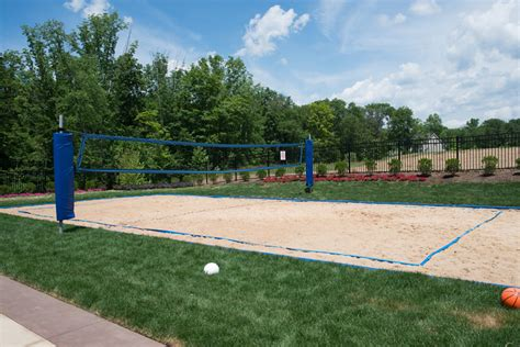 backyard sand volleyball court new luxury homes for sale in mount olive township nj