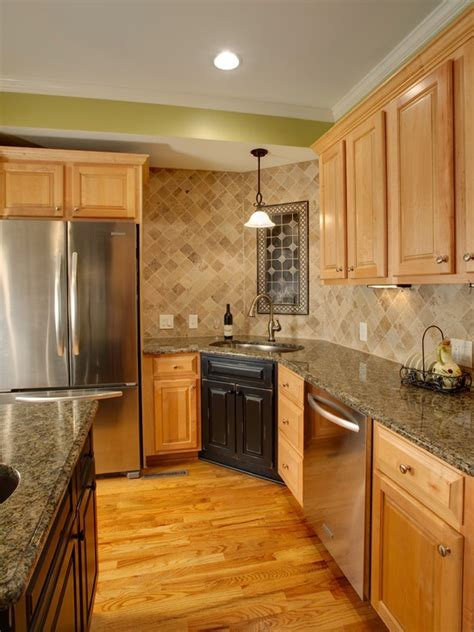 natural maple cabinets with granite countertops 146 best images about remodeling ideas on