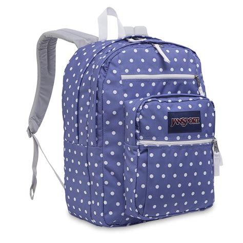 Ransel Jansport Polka Purple jansport big student backpack usa