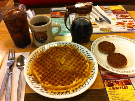 Road Trip   Small Town Breakfast At Waffle House   Points Miles & Martinis