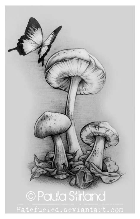 mushrooms tattoo designs best 25 tattoos ideas on trippy