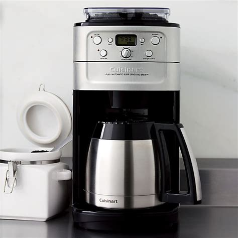 Cuisinart ® Grind and Brew Thermal 12 Cup Coffee Maker   Crate and Barrel
