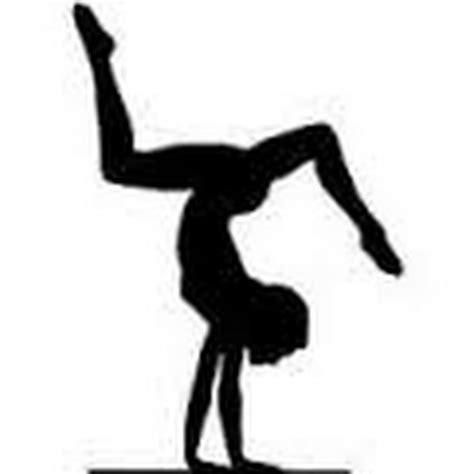gymnast clip gymnast clipart gymnastics handstand pencil and in color