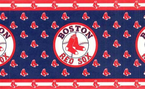 boston red sox home decor mlb baseball home decor boston red sox wall border 594315