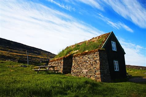 Inside Of House panoramio photo of icelandic turf house