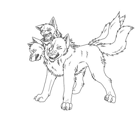 Cerberus Coloring Pages how to draw baby cerberus