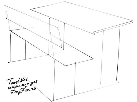 How To Draw A Desk Step By Step how to draw a school desk step by step arcmel