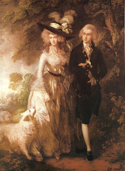 libro gainsborough a portrait gainsborouh el paseo matutino 1785 rococ 243 en europa paseos el perro y pinturas
