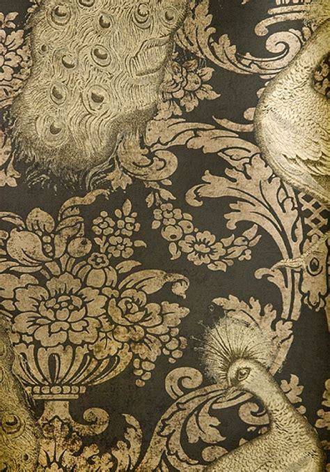 Opulent Wallpaper period drama s opulent influence on fabrics and wallpapers interiorzine
