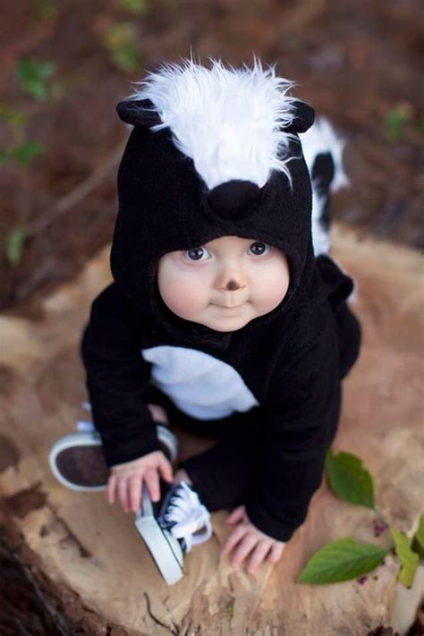 Picture Of Baby Skunk Costume For The Smallest Kid