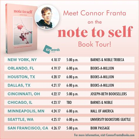 note to self affirmations to books one book tour news breaking headlines and top