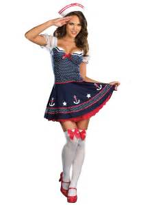 navy halloween costumes polka dot sailor costume