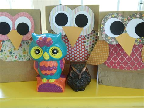 Gifts To Make Out Of Paper - owl gift bags family crafts