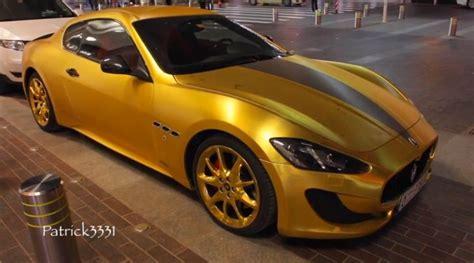 maserati chrome gold gold maserati sports swarovski bling in dubai autoevolution