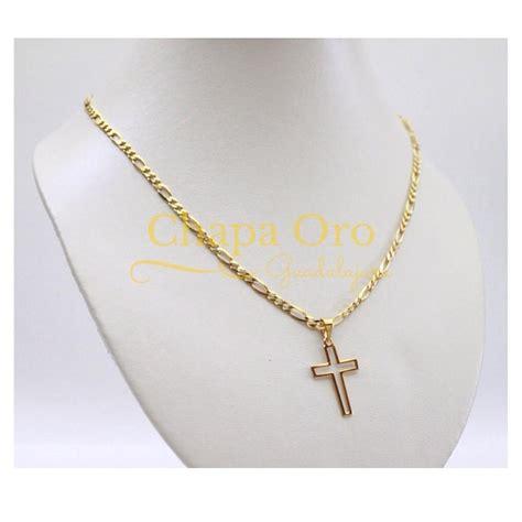 cadenas de oro con dijes dije de chapa de oro de 22 kilates con cadena de 22 k