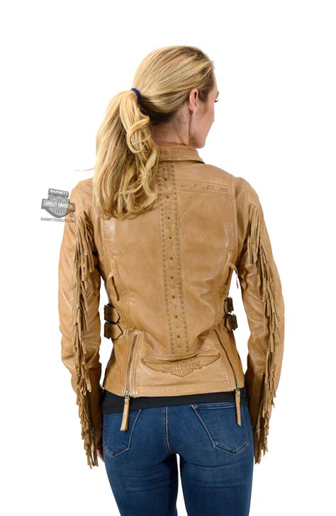 Harley Davidson White Brown harley davidson white leather jacket pictures to