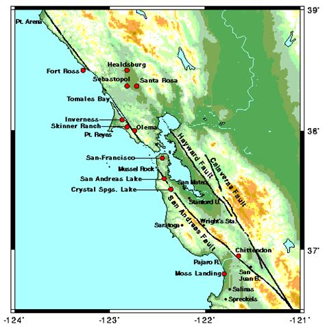 san francisco quake map 1906 san francisco earthquake