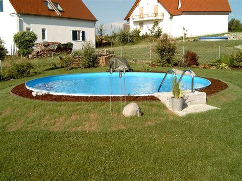 runder pool pools stahlwandpools pool mit stahlwand