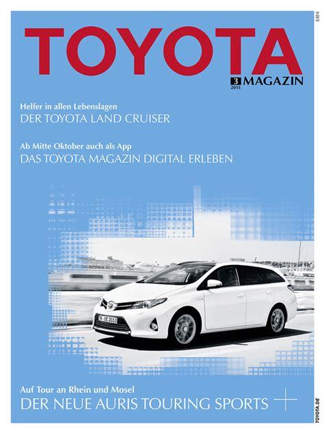 Auto Anmelden Versicherung Sofort Bezahlen by Toyota Magazin Auch Als App Magazin Von Auto De