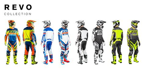 fxr motocross gear 2018 fxr mx collection dirt bike magazine