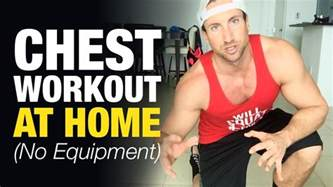 chest workout at home for build mass without