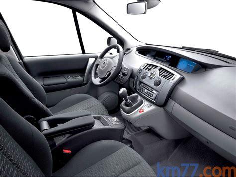 renault scenic 2007 interior fotos interiores renault sc 233 nic 2007 km77 com