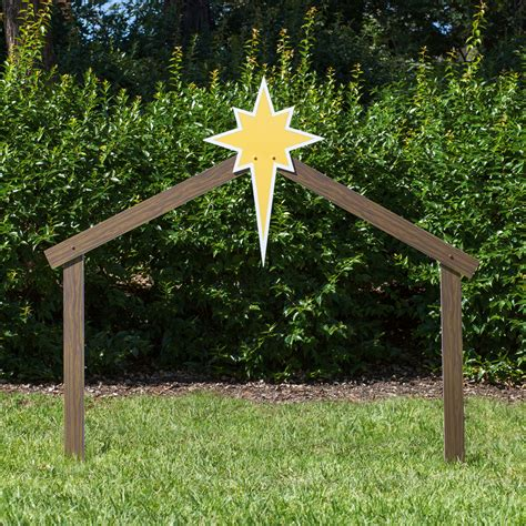 stable for nativity stable large classic outdoor nativity outdoor nativity