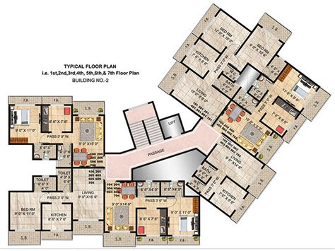 twin towers floor plans panvelkar twin towers in ambernath east mumbai price