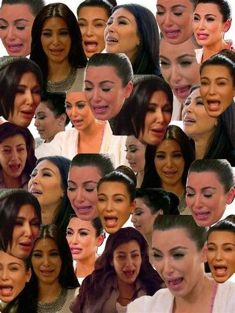 Kim Kardashian Crying Meme - kim kardashian s crying face lolz pinterest kim