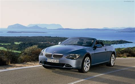 bmw 645ci convertible 2004 widescreen car pictures
